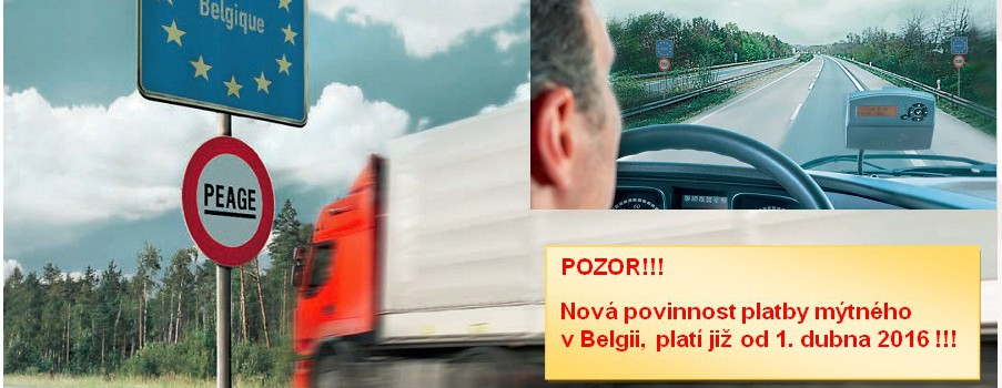 Mýto Belgie pro vozidla nad 3,5t
